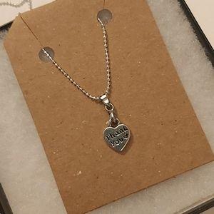 3/20$: Silver Tone Necklace